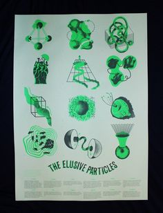 (1) Tumblr #particles #print #elusive #poster
