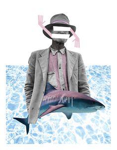 Old Man Ocean Collage - John Sippel | vltrr vltrr.com