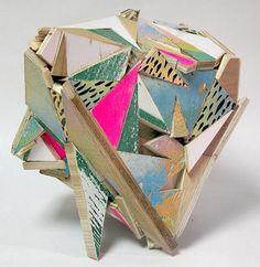 Aaron Moran | PICDIT #sculpture #design #wood #painting #art #media #colour