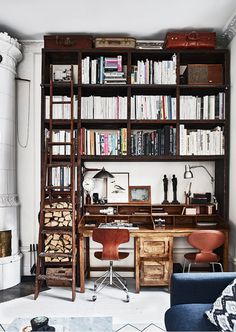 #interior #bookcase #workspace