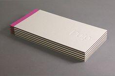 03 — Kent Lyons — Pulp Paper #print #deboss #paper #duplex