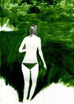 : Photo #swimsuit #illustration #swim #hhbm #suit