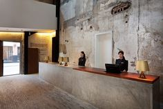 The Waterhouse at South Bund, Shanghai by NHDRO | ICON MAGAZINE ONLINE #interior #concrete #light