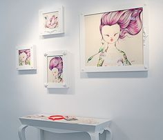 Violeta :: Work :: Neo-Romantic #illustration