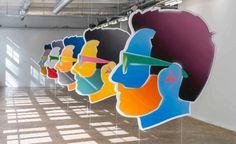 Galleria Gagosian, Andrews e Israel tra web, cinema e talk show #israel #alex #art