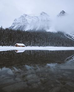 Lake Louise, Alberta by Nick La Cava