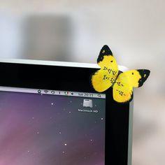 Butterfly Deco-It Sticky Notes