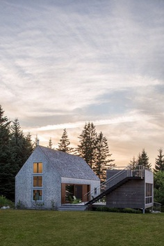 This Cranberry Isles House is a Modern Interpretation of the Traditional New England Farm 10