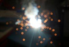 WELDING LIGHTS #old #craft #photography #light #welding