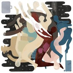 Keith Negley: Part man / Part negative space #illustration