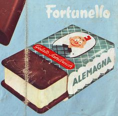 Fortunello Advertisement #fortunello #ad #advertising #advertisement #ice cream #retro #vintage