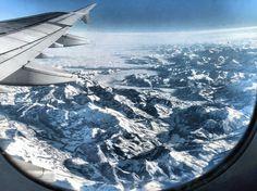 sunrise in airplane cockpit by karim nafatni #inspiration #creative #airplane #flying #photography #beautiful