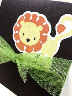 Baby Shower Invitation. Baby Lion Theme. #invitation #shower #crafts #print #lion #impreso #manualidades #len #baby