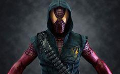 Spiderman Army Wallpaper