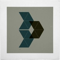 Geometry Daily #geometry #print #geometric #simple #minimal #poster