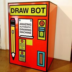 Insert Change Here #machine #design #portland #graphic #wk12 #vending #art #weird