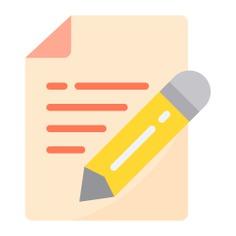 See more icon inspiration related to paper, document, contract, edit, pen, pencil, essay, file, files and folders, edit tools, insurance, signaling, notes and writing on Flaticon.