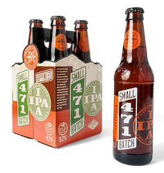 Breckenridge Small Batch 471 Packaging #packaging #beer #bottle