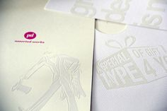 Creative Portfolio, Petre Spassov #emboss #coptic #self #print #promotional #book #screen