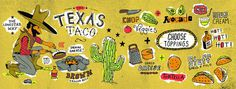 Alliteration Inspiration: Texas & Togetherness / on Design Work Life. #illustration #taxas