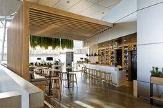 Restaurant Decor With Green Spirit