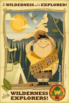 russell.jpg (image) #illustration #travel #vintage #pixar