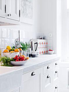 Cozy apartment in Gothenburg #interior #kitchen
