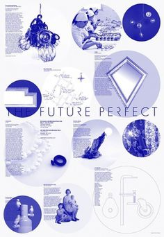 The Future Perfect Poster on the Behance Network