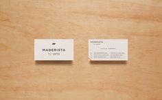 Maderista Identity by Anagrama