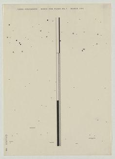 Ichiyanagi 03 #abstract #graphic #japanese #music score #fluxus