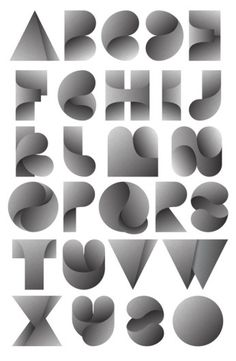 Fearless Leaves on the Behance Network #alphabet #typography