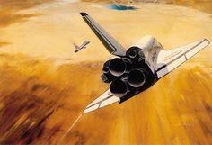 concept ships #shuttle #flight #nasa #space #concept #art