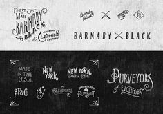 Barnaby Black - Jon Contino, Alphastructaesthetitologist #work #contino #illustration #john #type #new