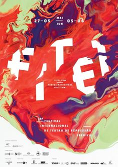 Typeverything.com - FITEI 2011 by Valdemar Lamego... - Typeverything #poster #typography
