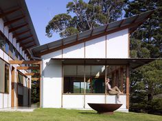 Dogtrot House by Dunn & Hillam Architects