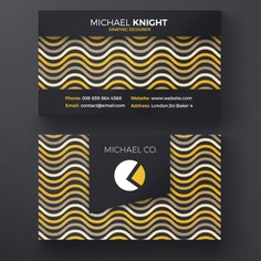 Creative wavy business card Free Psd. See more inspiration related to Background, Logo, Business card, Business, Abstract, Card, Template, Office, Visiting card, Layout, Web, Presentation, Graphic, Yellow, Stationery, Corporate, Contact, Creative, Company, Modern, Branding, Information, Visit card, Clean, Cards, Print, Identity, Brand, Minimal, Simple, Name and Wavy on Freepik.