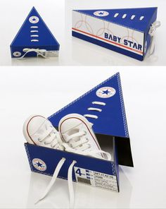 baby star shoe box by ronny poon #inspiration #creative #shoes #packaging #design