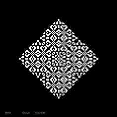 Form, Color & Typography (2011) on the Behance Network #white #pixel #black #illustration #pixels