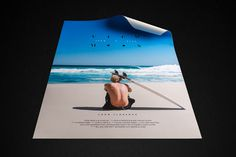 Wedge and lever, View from a blue moon, Surf, John John Florence, Logo, Poster Design,