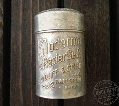 KalodermaTin #victorian #tin #vintage