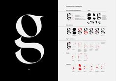 random goodness - hotphotography: possibilities of a lowercase g... #white #black #typography