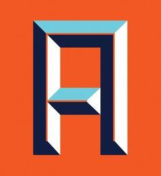 A / Tipografia. -Â be.net/alexandreruda #alexandre #tipography