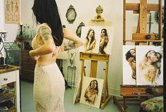photo #atelier #photo #workroom #laces #tattoo