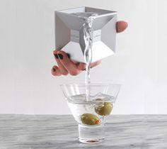 Kikkerland Jigger Aluminum Cube #gadget #home #cube