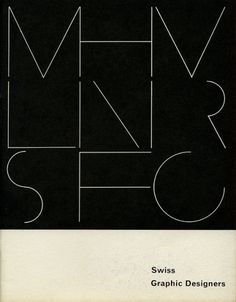 Swiss Graphic Designers | Flickr - Photo Sharing! #swiss #design #graphic #book #cover