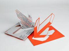 ccrz - Collezione Olgiati - The Second Year #die #cut #print #arrow #postcard