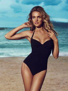 Natalia Vodianova by Benoit Peverelli for Etam's Spring 2013 Campaign #sexy #model #girl #swimwear #photography #summer #fashion