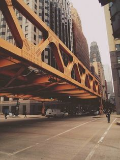THEY CALL ME BOOGIE #steel #bridge #city #architecture