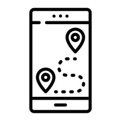 See more icon inspiration related to travel, gps, mobile map, maps and location, Tools and utensils, map location, placeholder, mobile phone, smartphone, geolocalization, pin and signs on Flaticon.