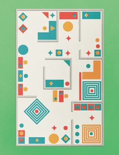 Beautiful Herman Miller illustrations by Gavin Potenza